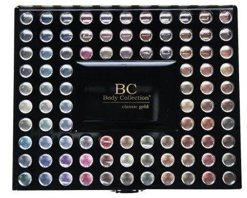 Kit farduri make-up Body Collection Classic 98 Eyeshadows Pallete