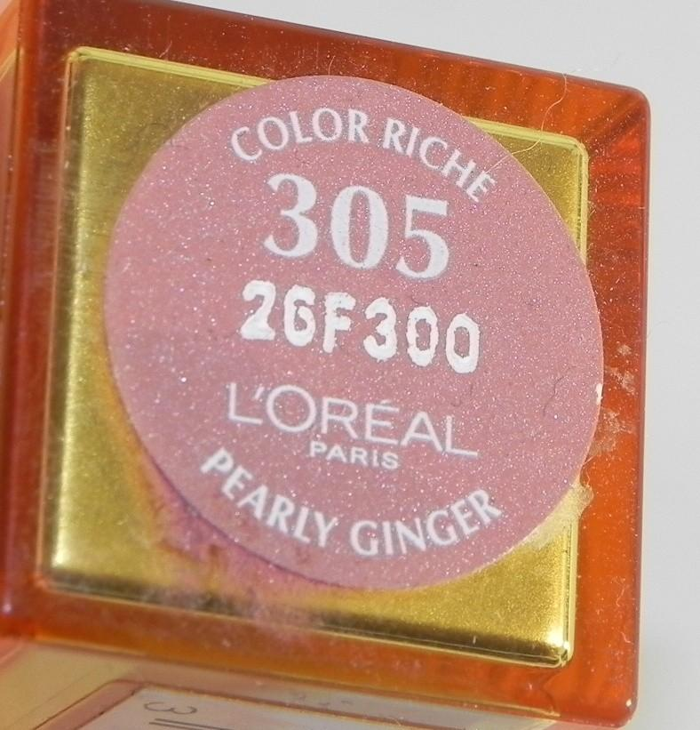 Ruj L'Oreal Colour Riche - Pearly Ginger