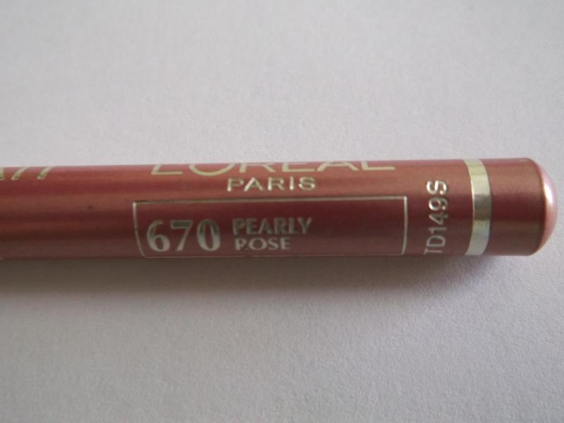 Creion contur buze L'Oreal Contour Parfait Lip Liners - Perly Rose