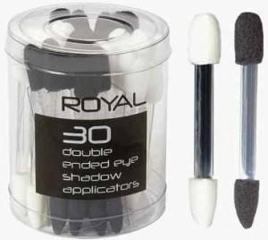 30 Aplicatoare duble Royal pentru fardurile de pleoape