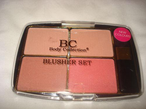 Set blusher-e + pensula Body Collection - Dusty Pink