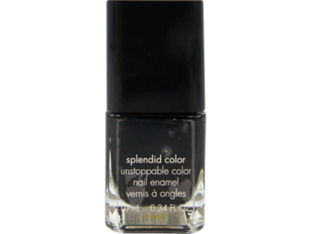 Oja cu stil Calvin Klein Splendid Color Nail polish - Ebony hates Chris-Black
