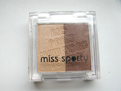 Fard Miss Sporty Studio Colour Duo Eyeshadow - Gold