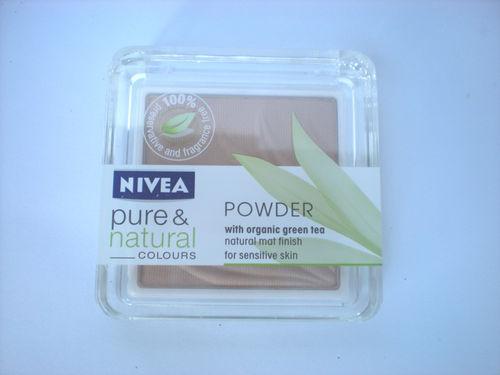 Pudra pentru ten sensibil Nivea Pure&Natural Colors - Nude