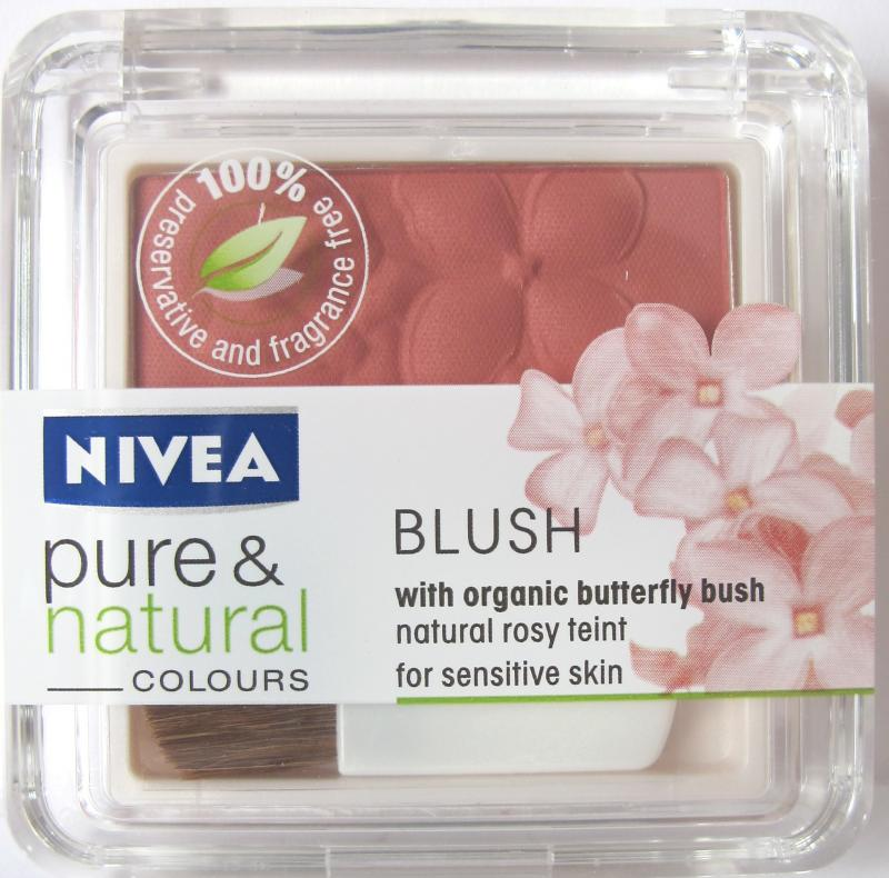 Blush pentru obraz Nivea Pure and Natural Colours Blush - Desert Rose