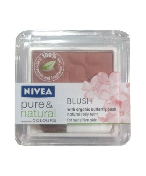 Blush pentru obraz Nivea Pure and Natural Colours Blush - Desert Sand