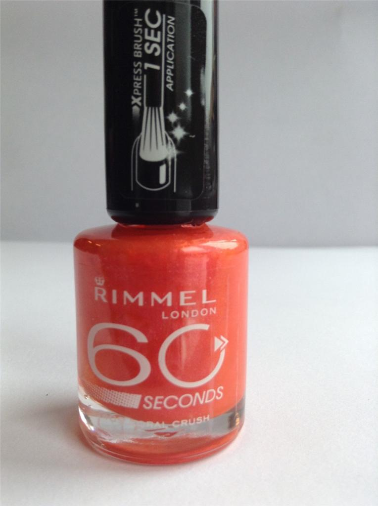 Oja Rimmel London 60 Seconds - Coral Crush