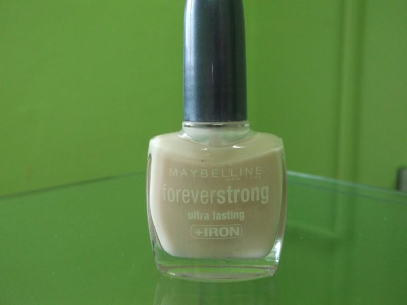 Oja Maybelline Forever Strong Ultra Lasting + Iron - Eternal Ivory