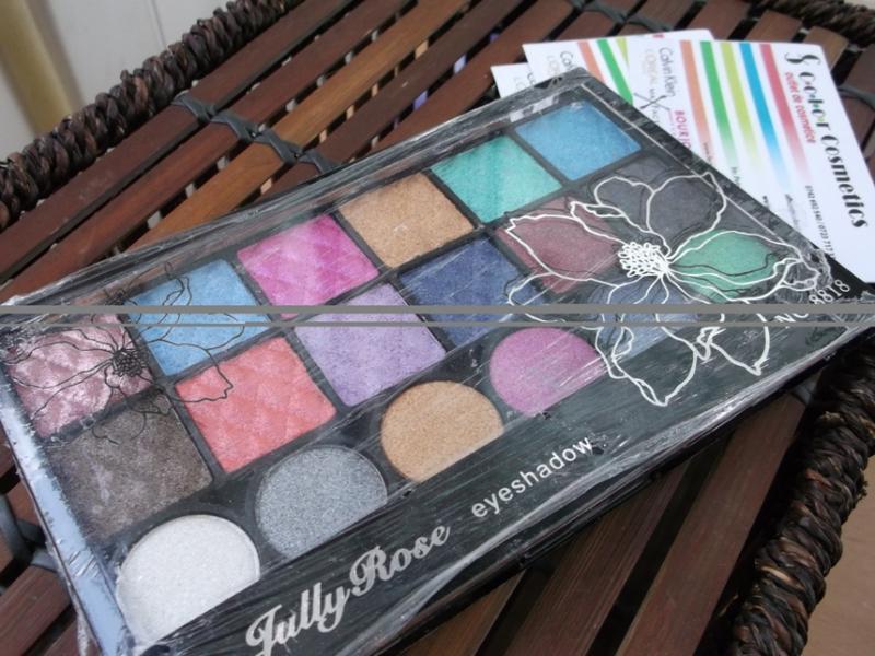 Trusa farduri Angel Cosmetics Jully Rose Shiny Wet Eyeshadows -01