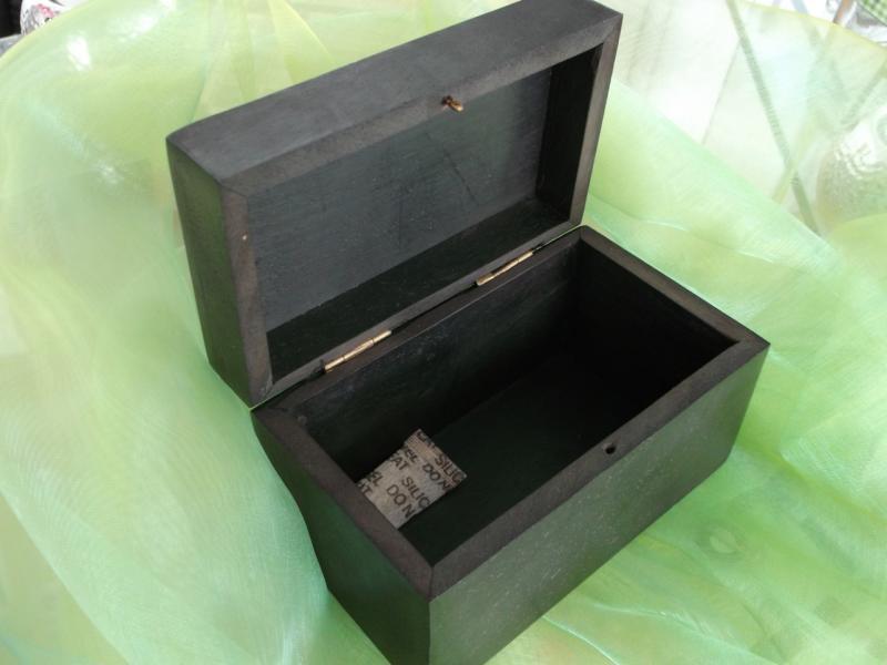 Caseta de lemn wenge pentru bijuterii