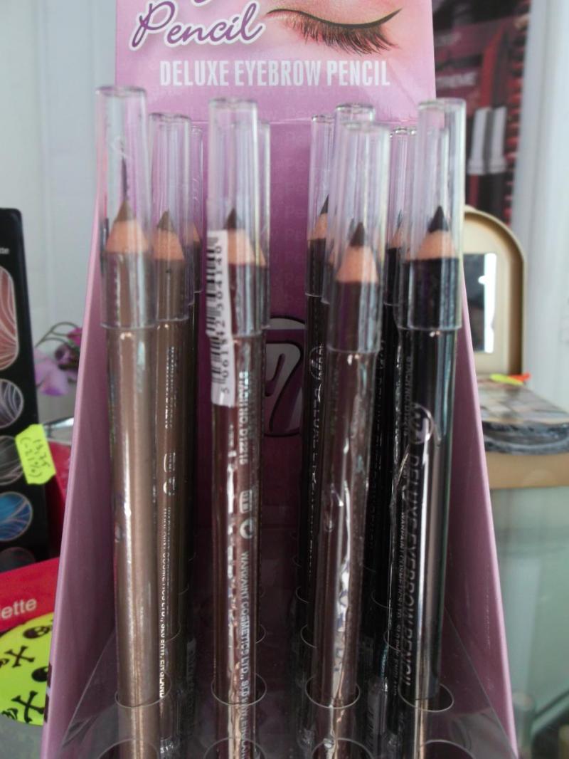 Creion sprancene cu perie W7 Deluxe - Brown