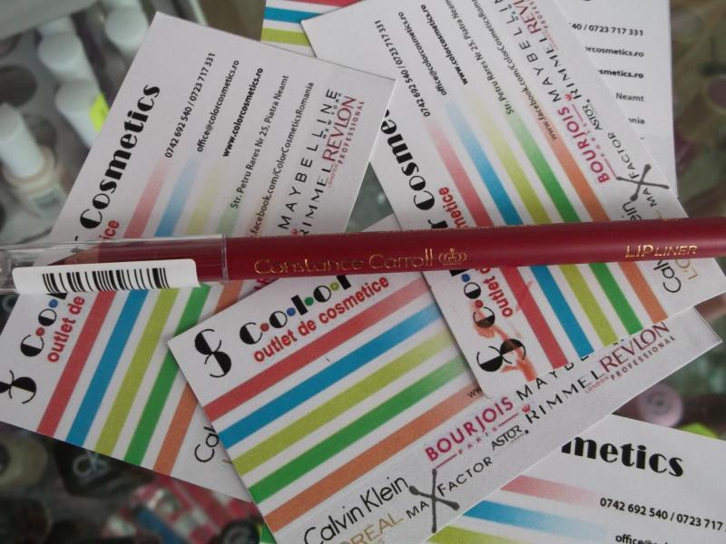 Creion contur buze Constance Carroll Lipliner - Paprika