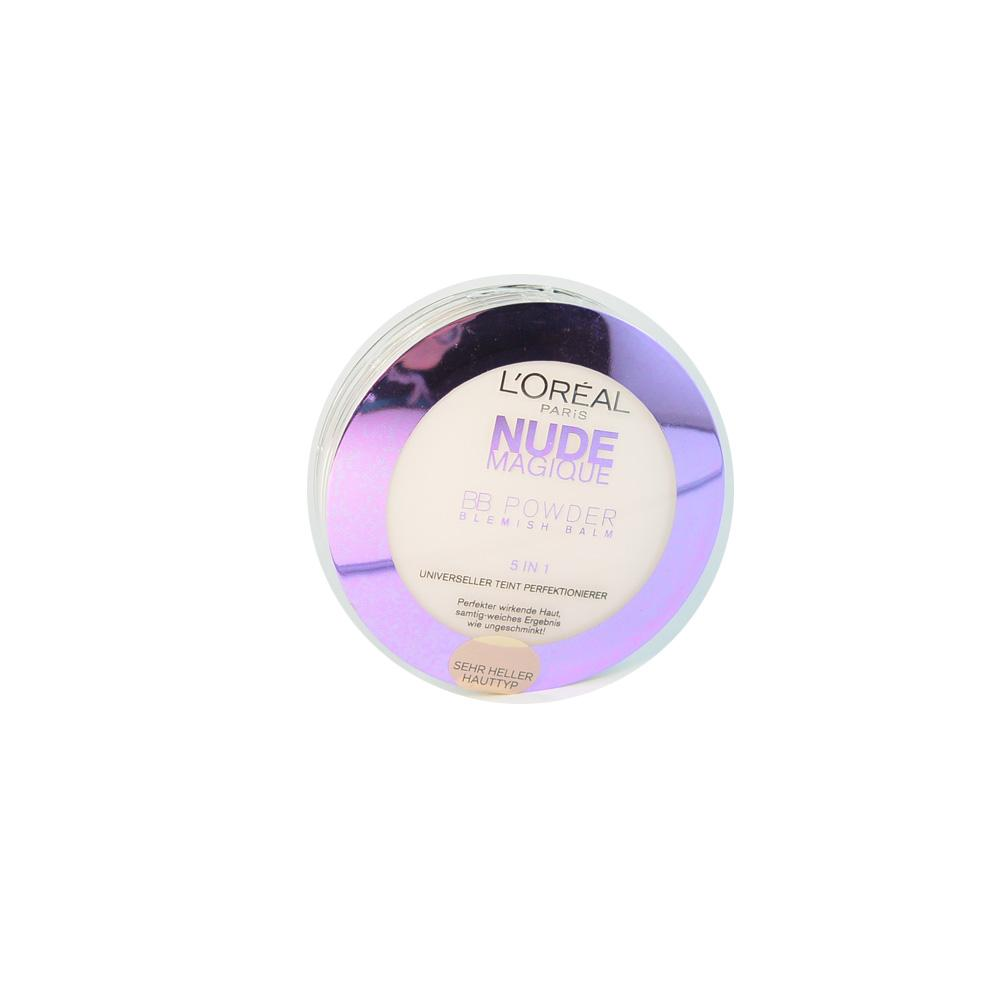Pudra BB L'Oreal Nude Magique BB Powder Sehr Heller (Very Light)