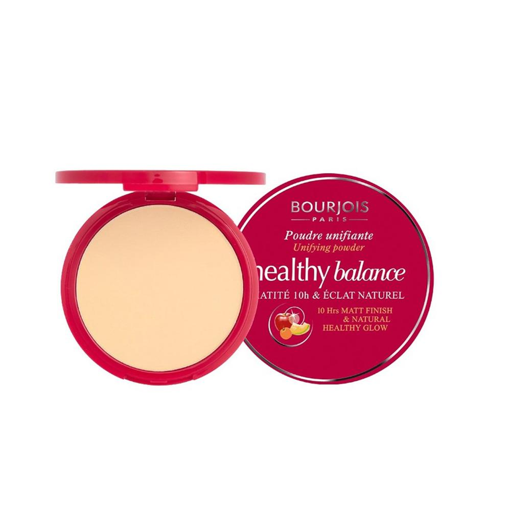 Pudra ce uniformizeaza tenul Bourjois Healthy Balance Unifying Powder, 53, Light Beige, 9g