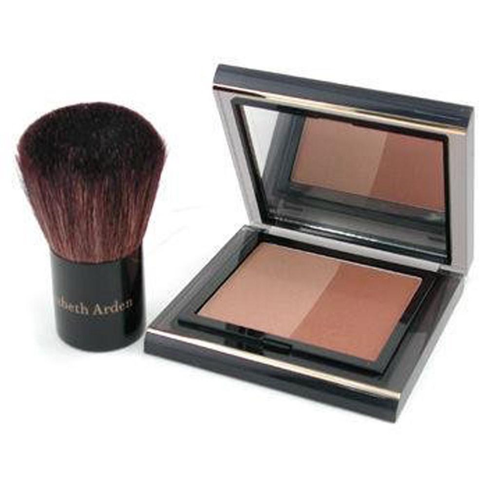 Pudra bronzanta Elizabeth Arden Color Intrigue Bronzing Powder Duo - Bronze beauty