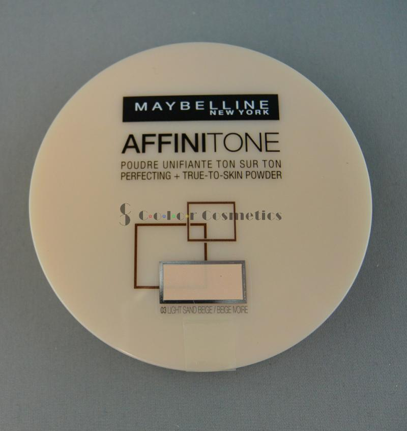 Pudra Compacta Maybelline Affinitone -  Light Sand Beige