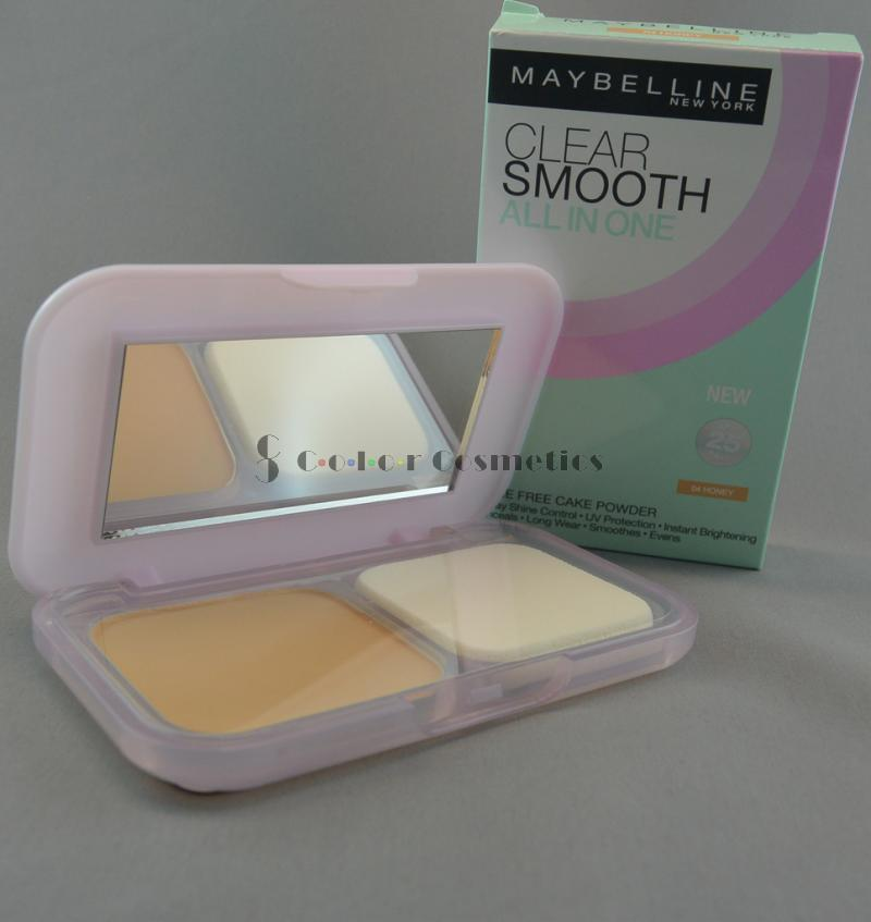 Pudra compacta Maybelline Clear Smooth All In One Powder - Honey