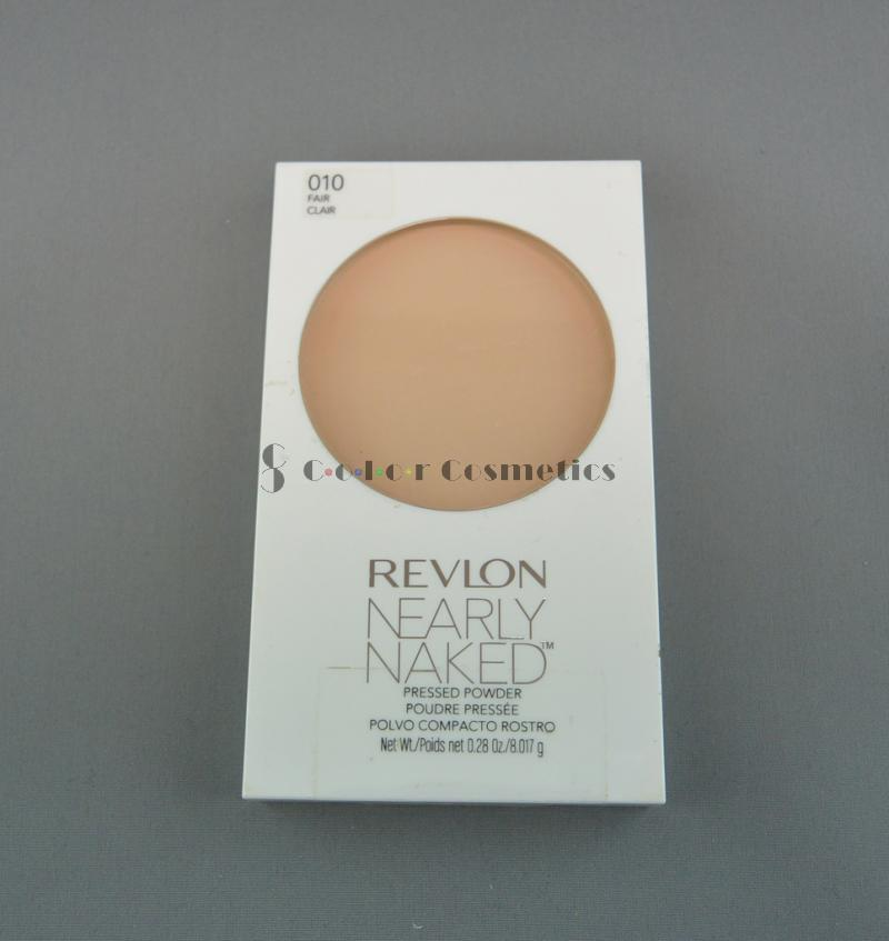 Pudra compacta Revlon Nearly Naked pressed powder - Fair
