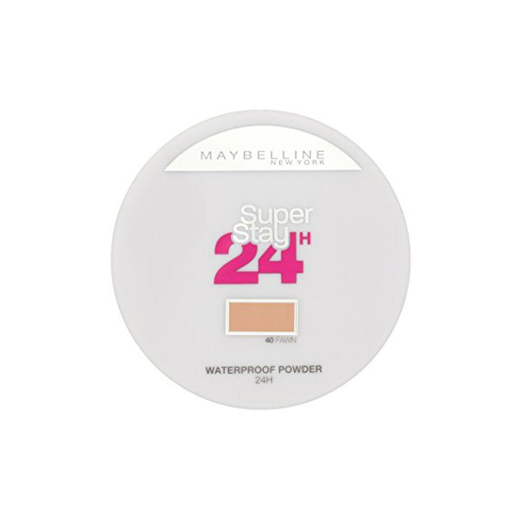 Pudra rezistenta la apa Maybelline Super Stay 24H Waterproof Powder - Fawn