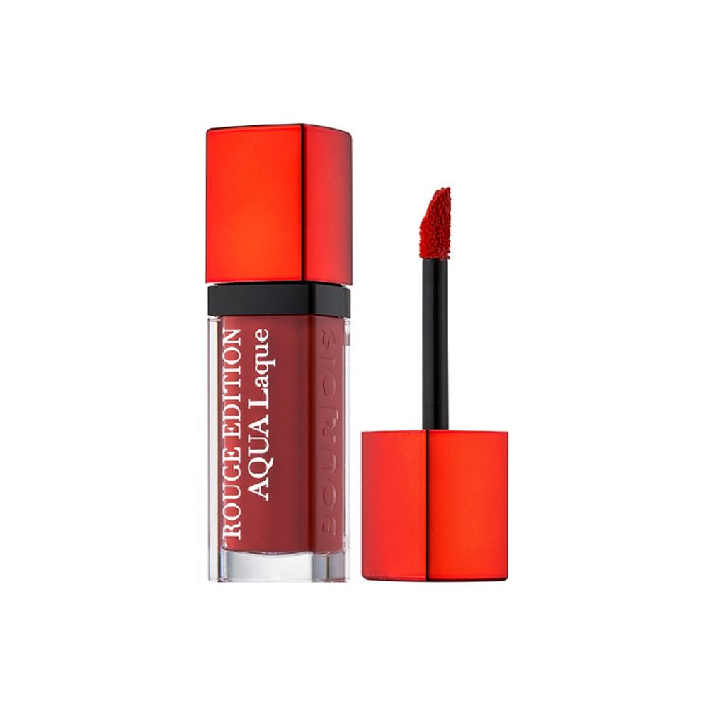 Ruj lichid Bourjois Rouge Edition Aqua Laque, 06, Feeling Reddy,  Rosu, 7.7 ml