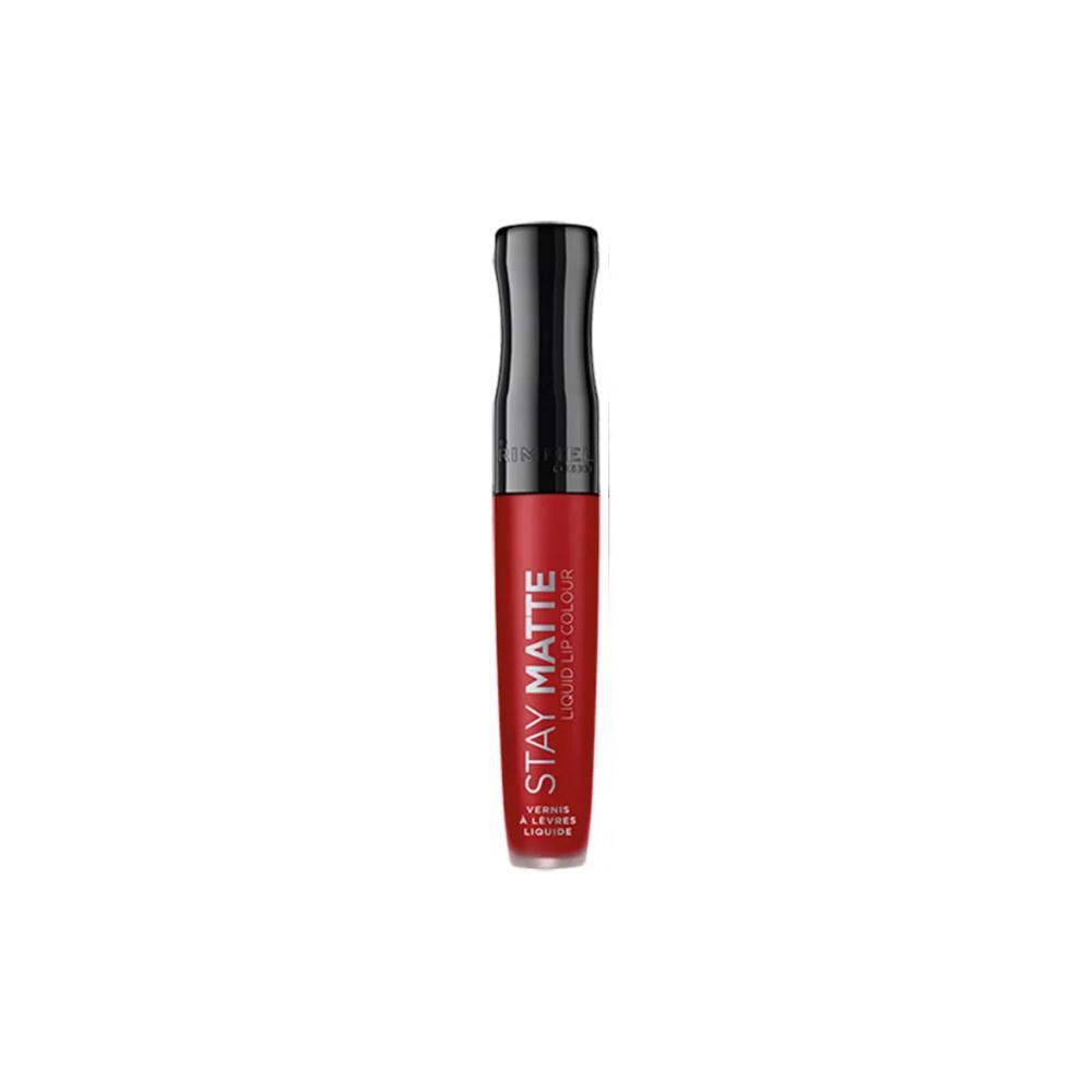 Ruj Lichid Mat Rimmel Stay Matte Liquid Lip Colour 500 Fire Starter