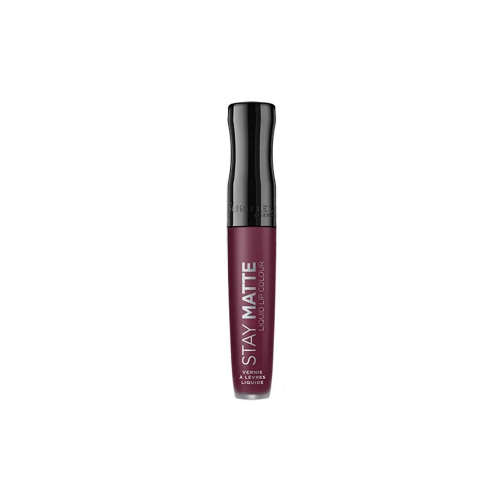 Ruj lichid mat Rimmel Stay Matte Liquid Lip Colour 800 Midnight 5.5ml Mov