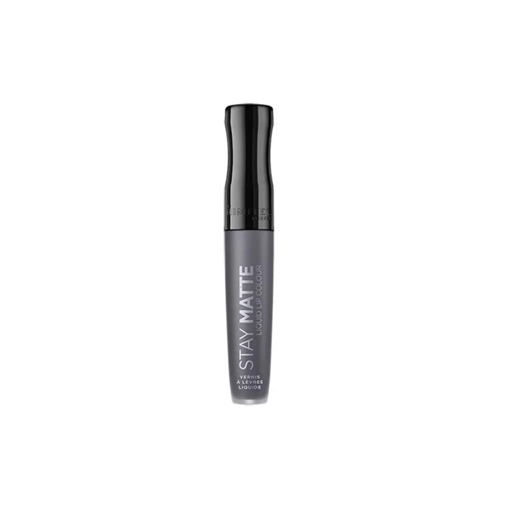 Ruj lichid mat Rimmel Stay Matte Liquid Lip Colour 850 Shadow 5.5ml Gri