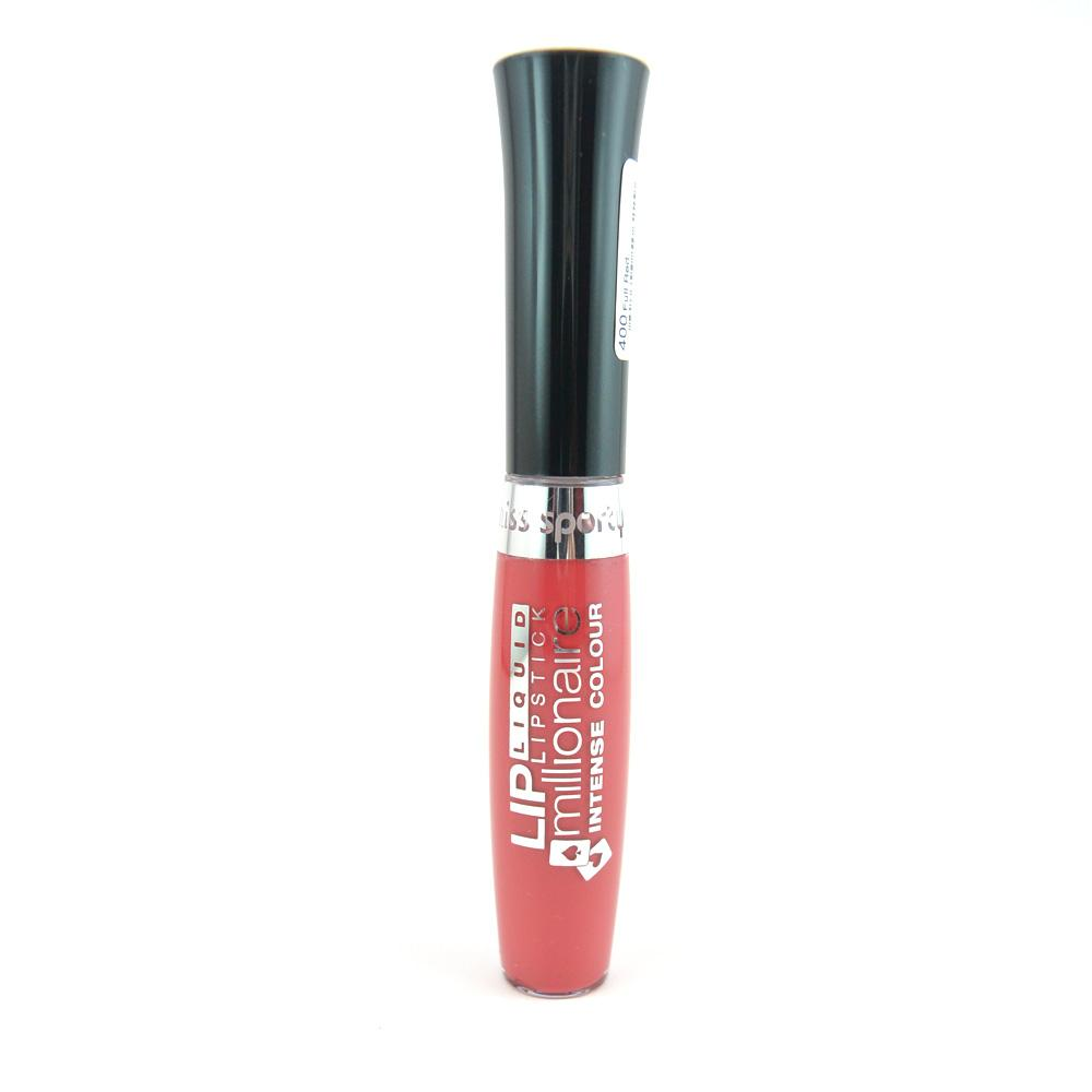 Ruj lichid Miss Sporty Lip Millionaire Liquid Lipstick Intense Colour - Full Red
