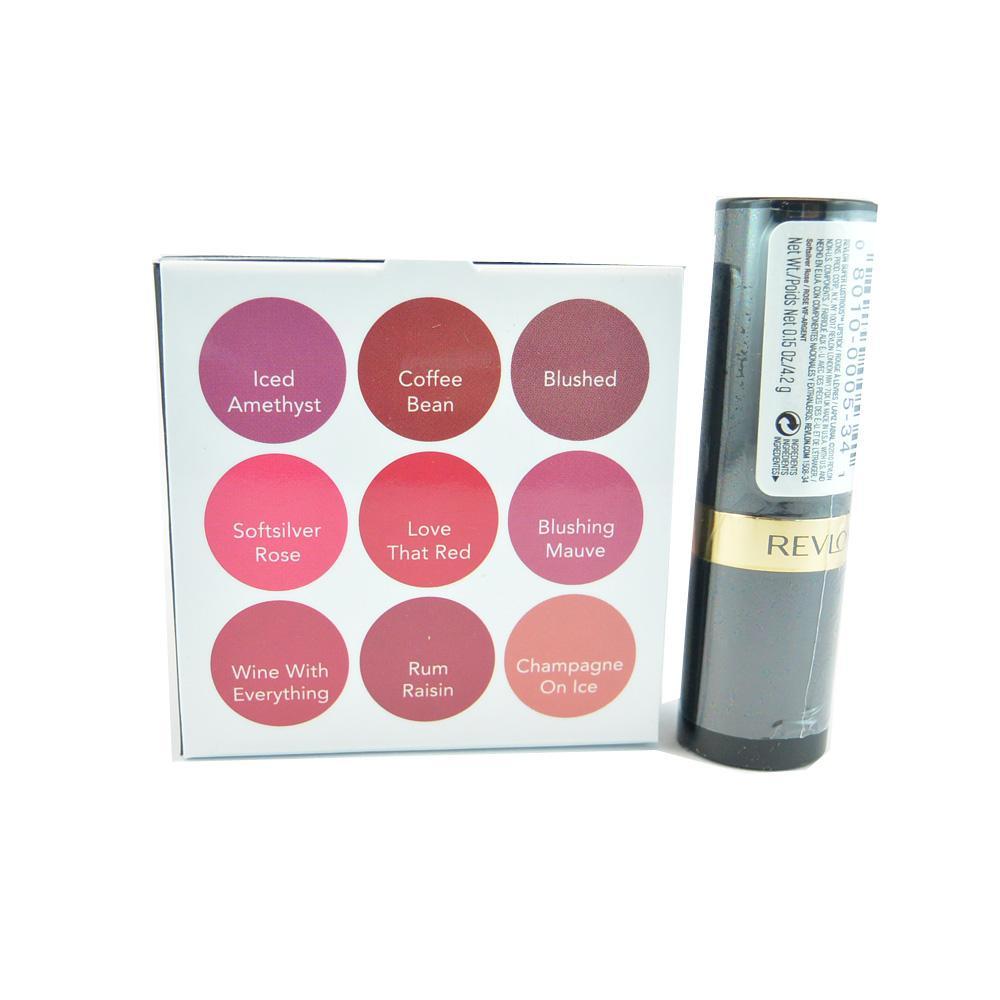 Ruj Revlon Super Lustrous Lipstick - Softsilver Rose