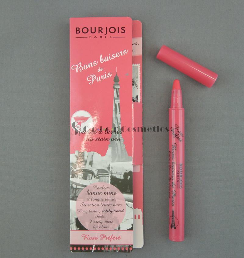 Ruj tint Bourjois Bons baisers de Paris - Rose Prefere