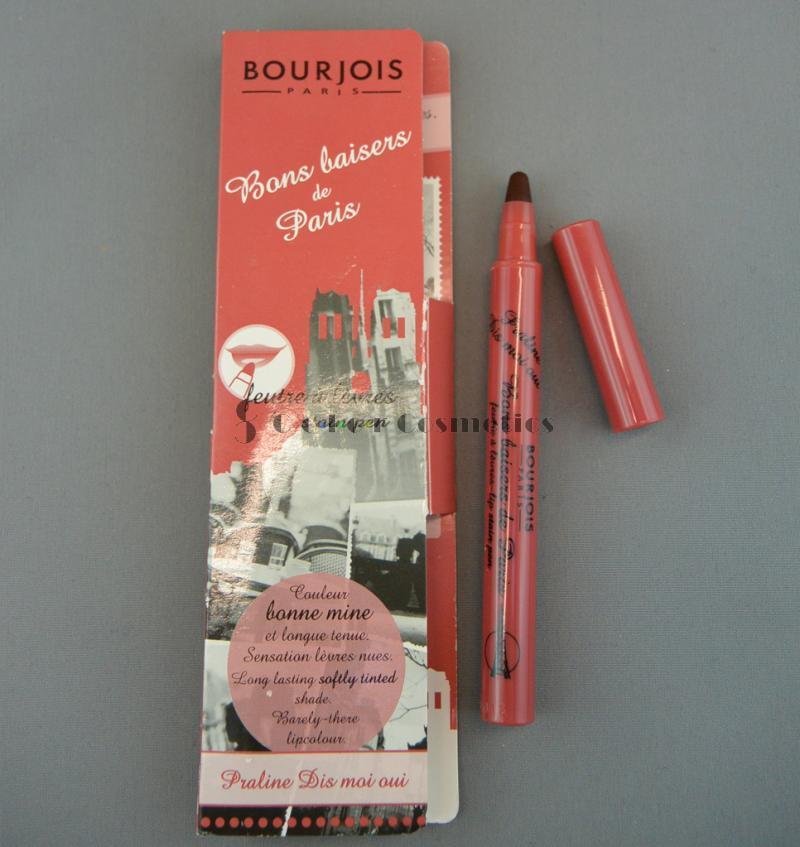 Ruj tint Bourjois Bons baisers de Paris - Praline Dis moi oui