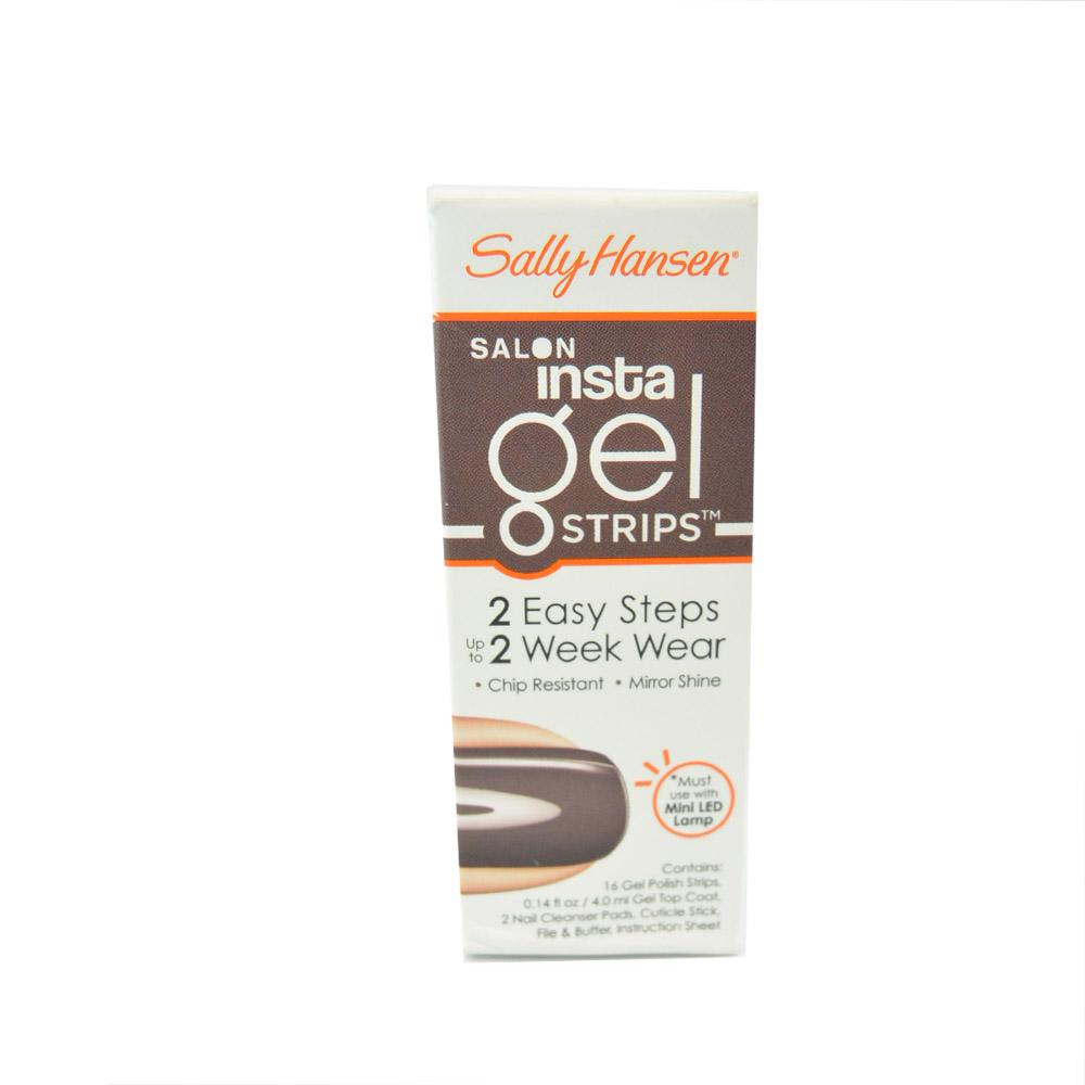 Set complet fasii oja gel Sally Hansen Salon Insta Gel Strips - Commander in chic