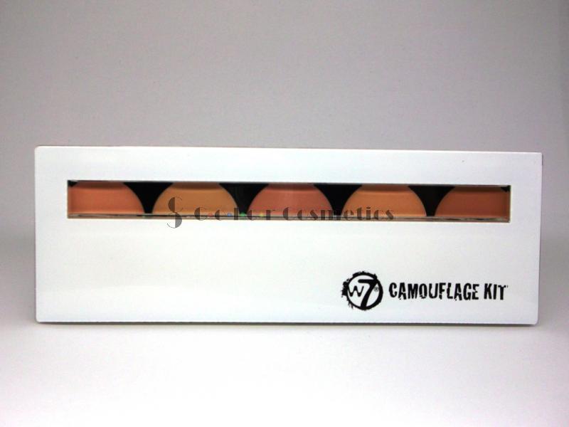 Set profesional de anticearcan/corectoare W7 Camouflage Kit
