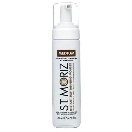 Spuma autobronzanta Profesionala ST. MORIZ Instant Tanning Mousse, Medium, 200 ml