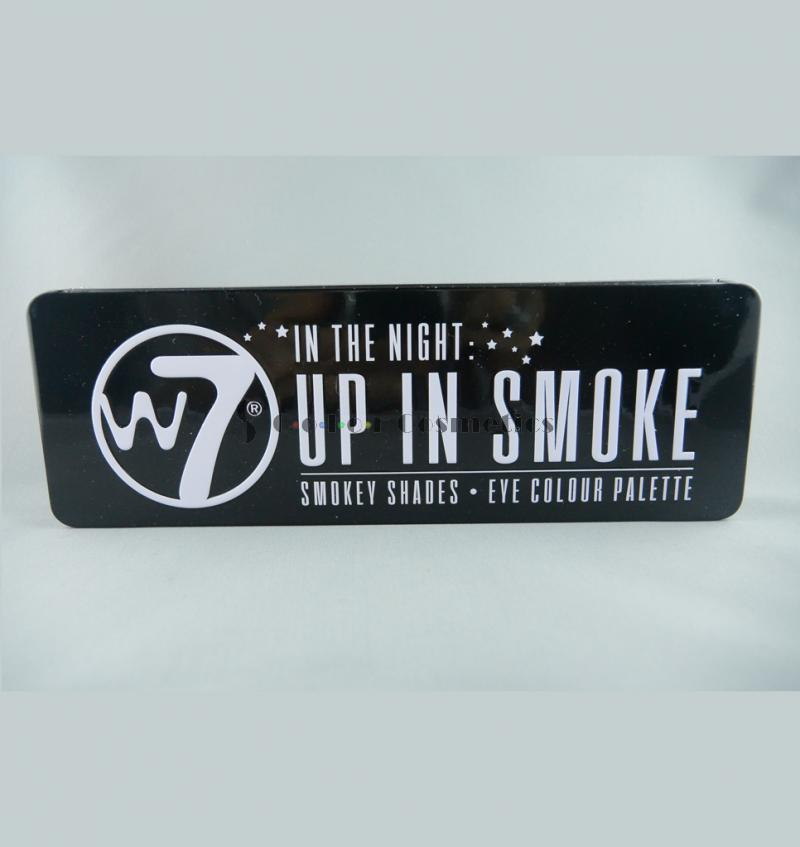 Trusa farduri W7 In the night: up in Smoke- Smokey Shades Eye colour Palette