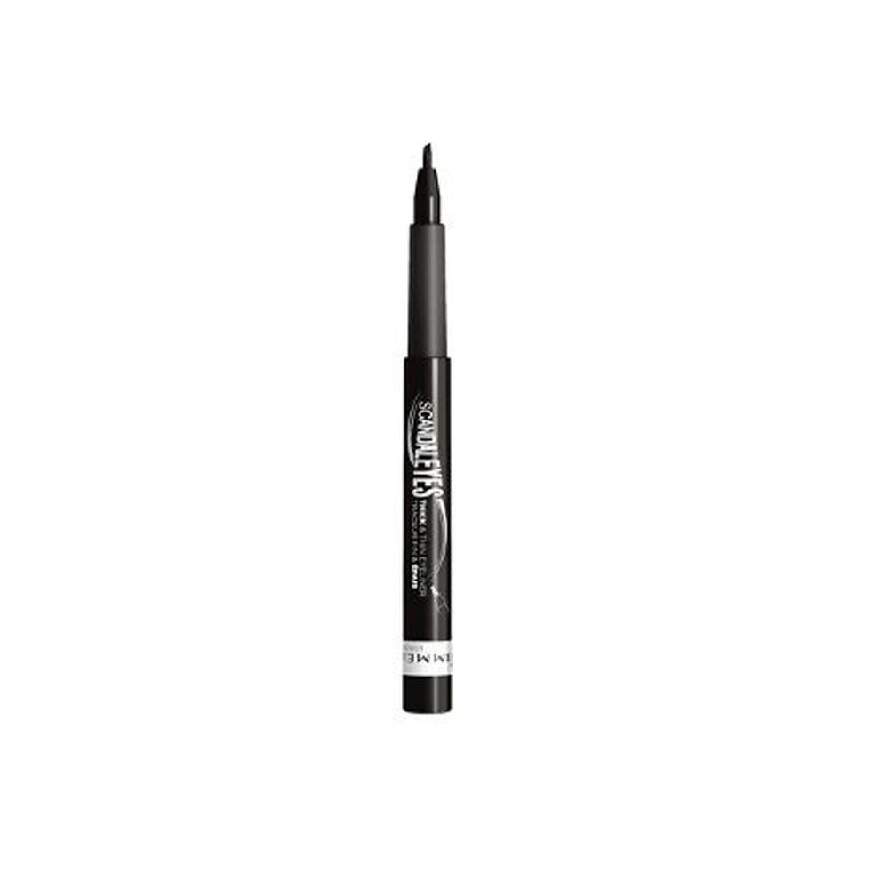 Tus contur ochi Rimmel Scandaleyes Thick & Thin Eyeliner Pen - Black