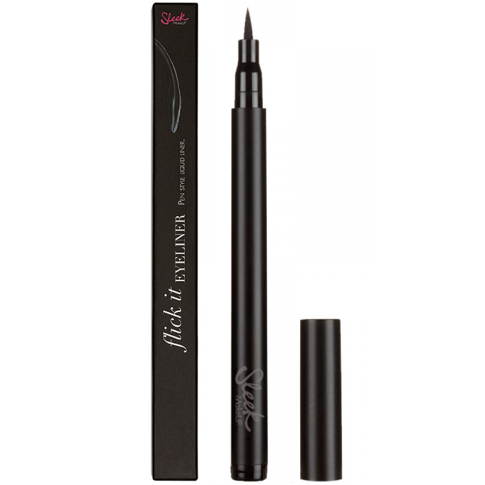 Tus lichid pentru conturul ochilor Sleek Flick It Liquid Eyeliner Pen - Dazzling Black