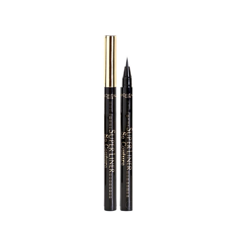 Tus pentru contur ochi L'Oreal Super Liner So Couture Eyeliner Pen -  Black