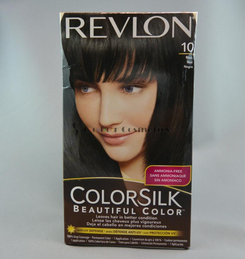 Vopsea de par Revlon ColorSilk Beautiful Color - Black